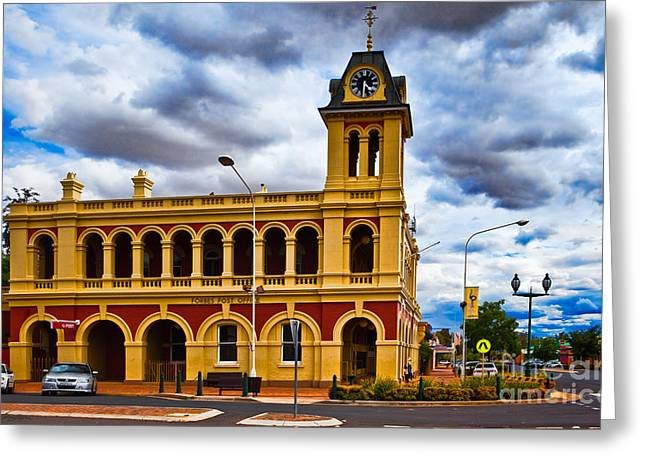 Oceania Greeting Cards - Forbes Post Office Greeting Card by John Buxton