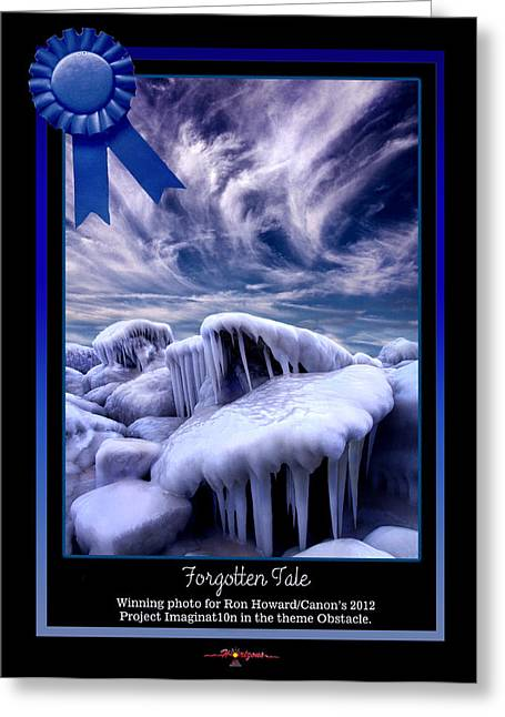Forbidden Tale Greeting Card by Phil Koch