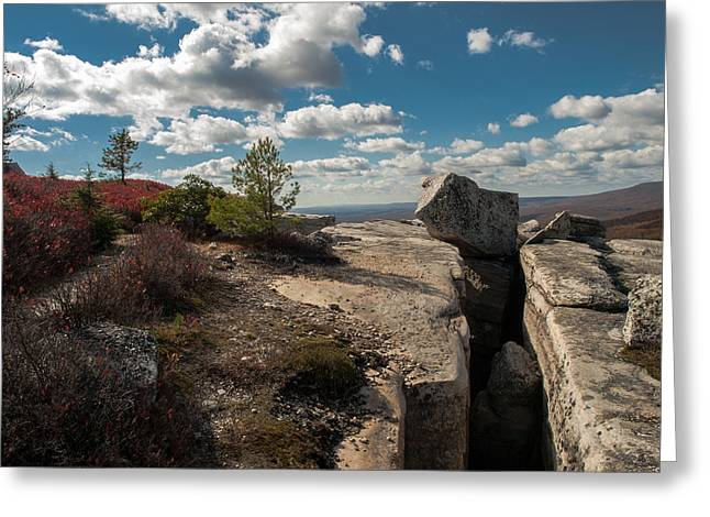 Shawanagunk Mountains Greeting Cards - Force of Nature Greeting Card by Jim DeLillo