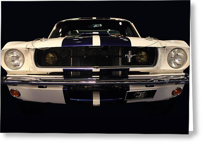 Delux Greeting Cards - Ford front vew Greeting Card by Radoslav Nedelchev