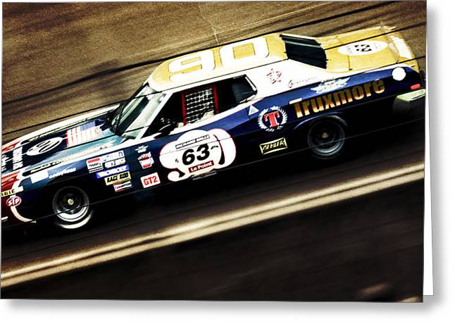 Phil Motography Clark Photographs Greeting Cards - Ford Gran Torino Greeting Card by Phil