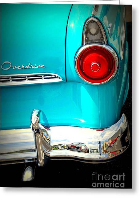 Ford Overdrive Greeting Card by Susanne Van Hulst