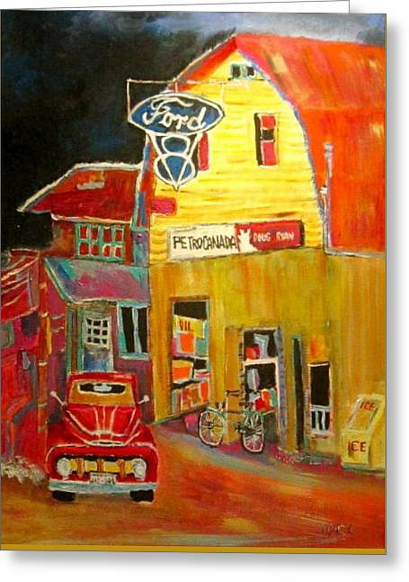Michael Litvack Greeting Cards - Ford Petrocan Greeting Card by Michael Litvack