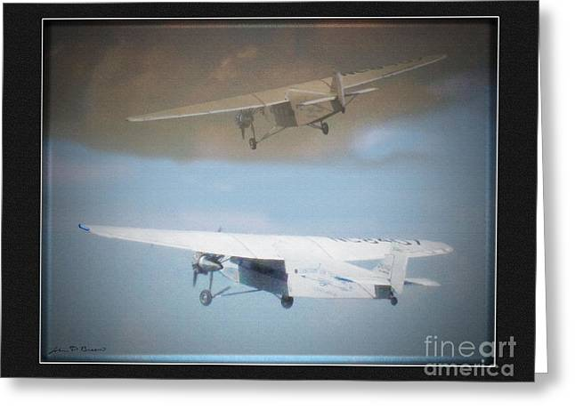 Ford Trimotor Greeting Cards - Ford Trimotor Greeting Card by John Breen