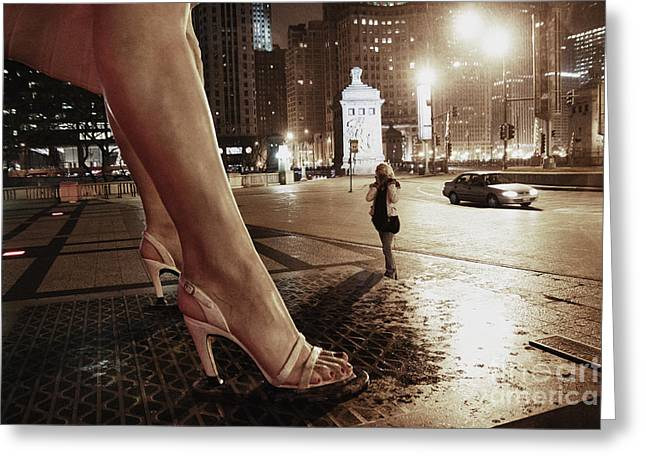Magnificent Mile Greeting Cards - Forever Marilyn 7 Greeting Card by Christopher Purcell