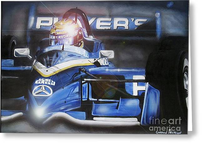 Indy Car Greeting Cards - Forever Moore Greeting Card by Gordon Paterson