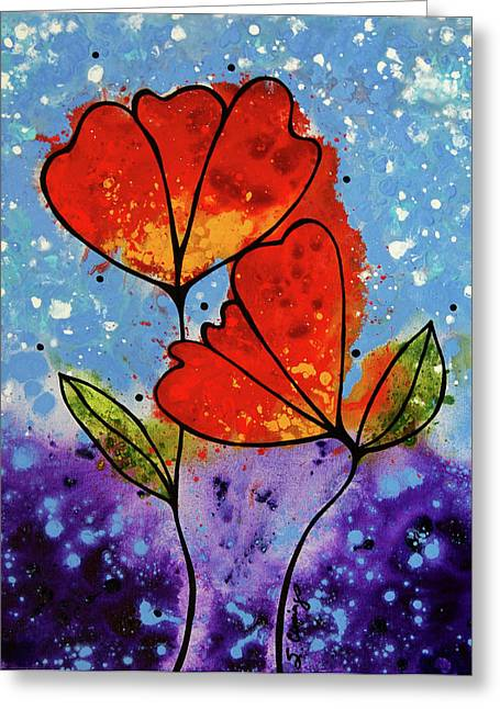 Proposal Greeting Cards - Forever Yours Greeting Card by Sharon Cummings