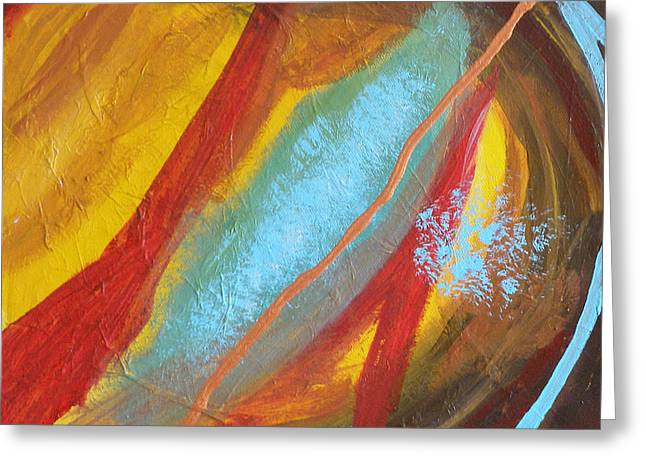 Forgiven Paintings Greeting Cards - Forgiven Part Two Greeting Card by Jennifer Anderson