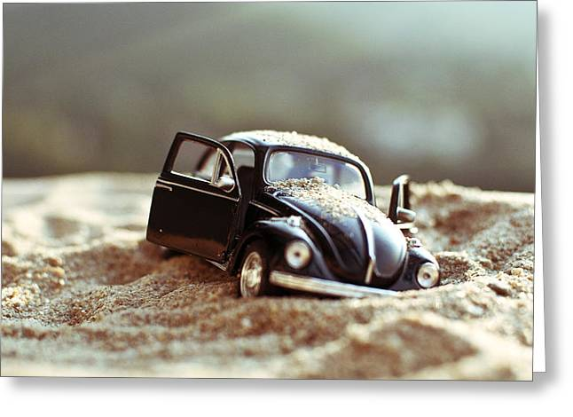 Vw Beetle Greeting Cards - Forgotten Greeting Card by Ivan Vukelic