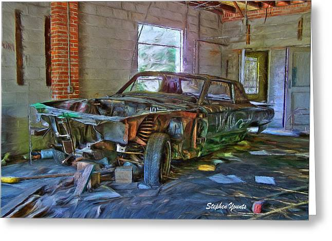 Sanitarium Greeting Cards - Forgotten Greeting Card by Stephen Younts