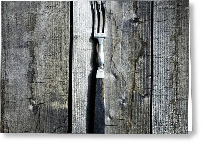 Forks Greeting Cards - Fork Greeting Card by Joana Kruse