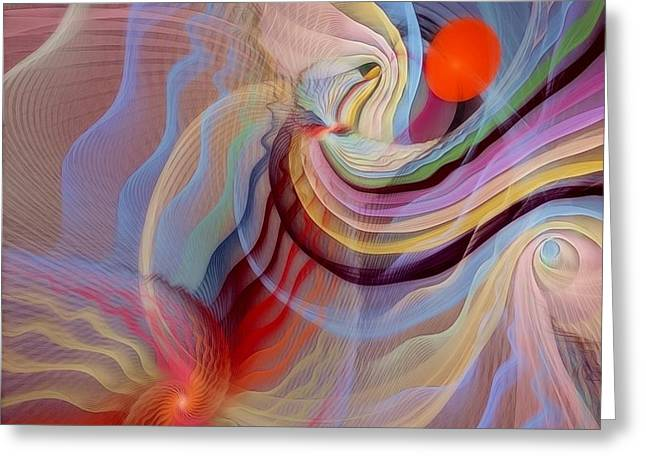 Form Accepted in the Heart Greeting Card by Gayle Odsather