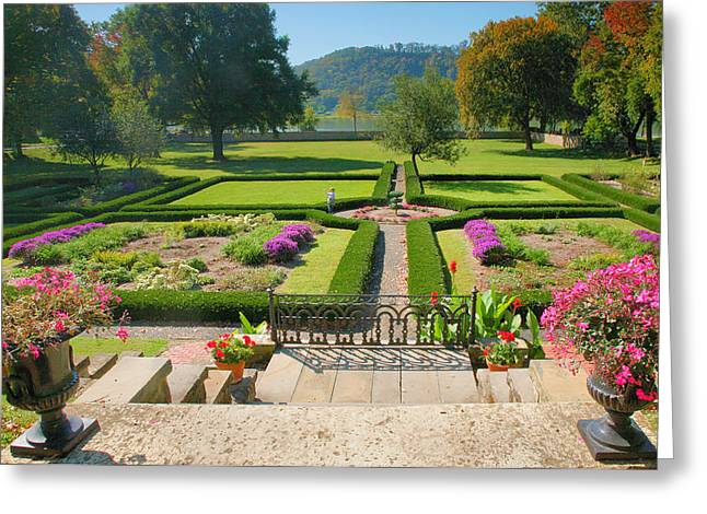Indiana Photography Greeting Cards - Formal Garden I Greeting Card by Steven Ainsworth