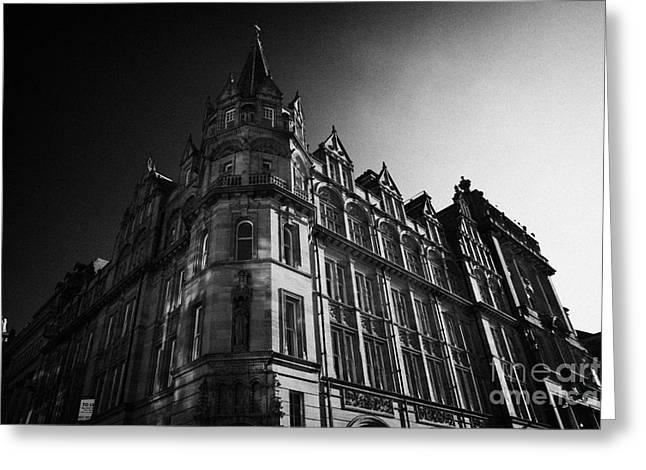 Assurance Greeting Cards - Former Prudential Assurance Building St Andrew Square Edinburgh Scotland Uk United Kingdom Greeting Card by Joe Fox