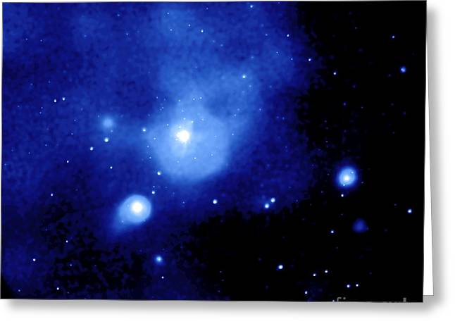 Fornax Galaxy Cluster Greeting Card by NASA / Science Source