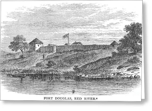 Douglass Greeting Cards - Fort Douglas, Canada Greeting Card by Granger