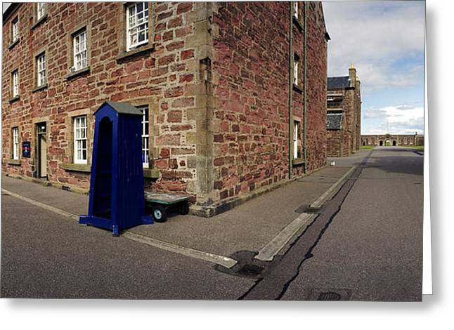 Fort George Greeting Cards - Fort George Barracks  Greeting Card by Jan Faul