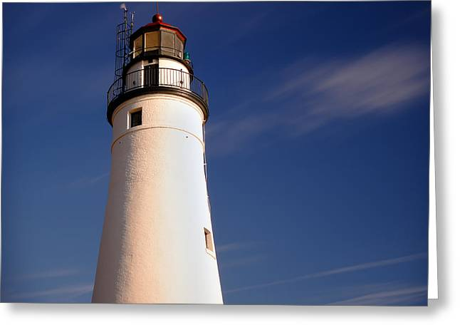 Fort Gratiot Lighthouse Greeting Card by Gordon Dean II