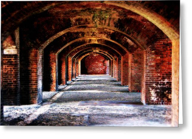 Fort Jefferson Greeting Cards - Fort Jefferson Greeting Card by Perry Webster