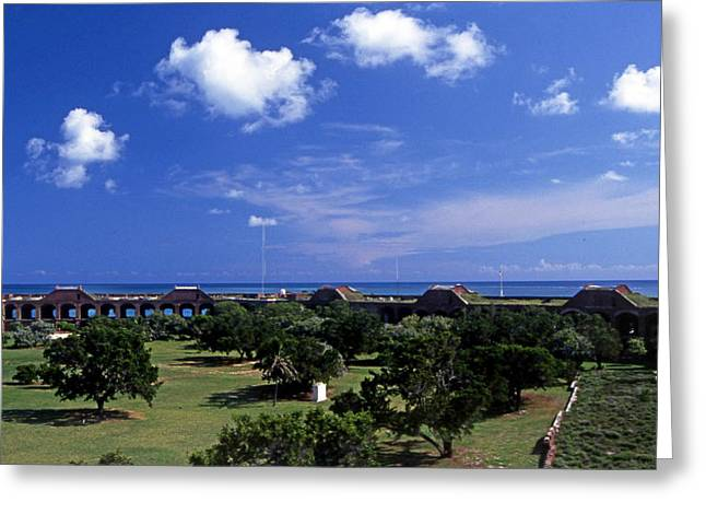 Fort Jefferson Greeting Card by Skip Willits
