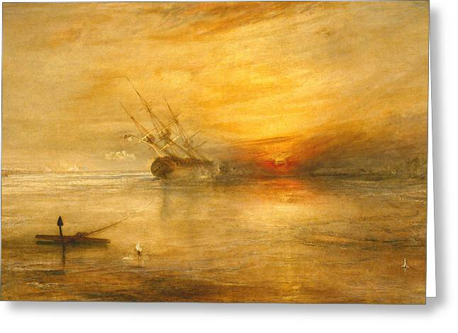 Sunnies Greeting Cards - Fort Vimieux Greeting Card by Joseph Mallord William Turner