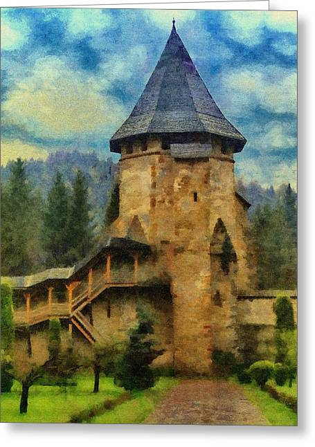 Walls Greeting Cards - Fortified Faith Greeting Card by Jeff Kolker