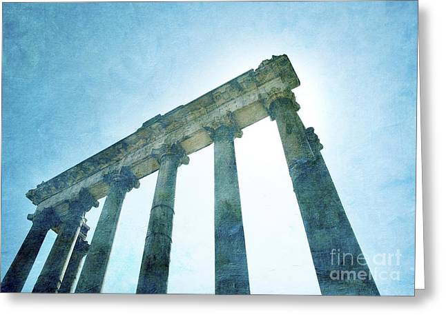 Historically Greeting Cards - Forum. Rome Greeting Card by Bernard Jaubert