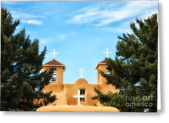 Four Crosses Greeting Card by Tamera James