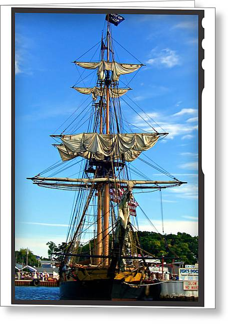 Kelly Greeting Cards - Foxs Dock Greeting Card by Joan  Minchak
