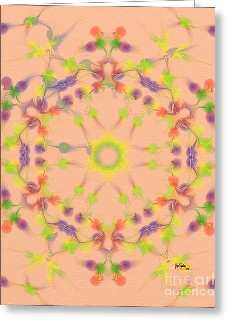Mixed Media Greeting Cards - Fractal Magic 10 Greeting Card by Rod Seeley