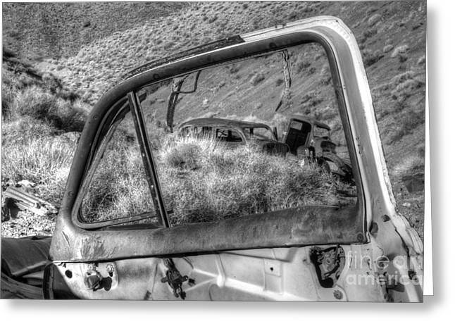 Forgotten Cars Greeting Cards - Framed Greeting Card by Bob Christopher