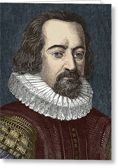 Francis B Greeting Cards - Francis Bacon, English Philosopher Greeting Card by Sheila Terry