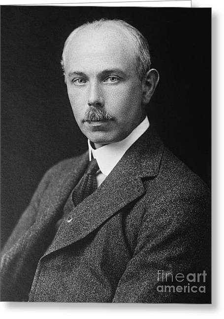 Nobel Recipient Greeting Cards - Francis William Aston, English Chemist Greeting Card by Science Source
