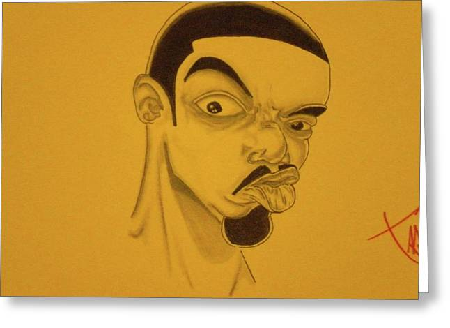 Ambition Drawings Greeting Cards - Frankie-Dutch Greeting Card by Mr Ambition