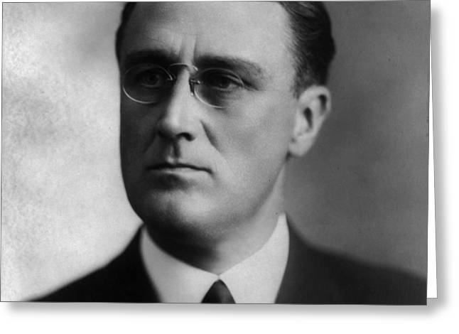 Franklin Delano Roosevelt Greeting Card by International  Images