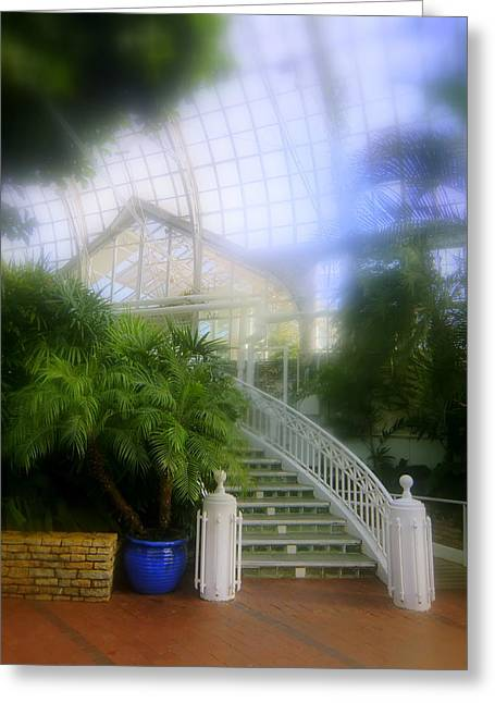 Walk Paths Greeting Cards - Franklin Park Conservatory Greeting Card by Mindy Newman