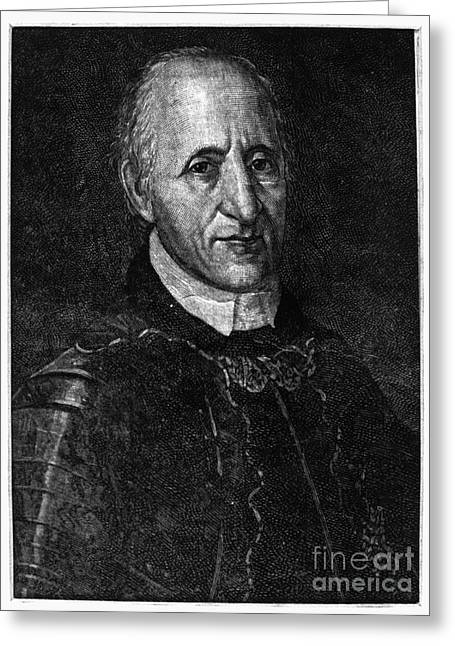 Recently Sold -  - Engraving Greeting Cards - FranÇois Coulon De Villiers Greeting Card by Granger