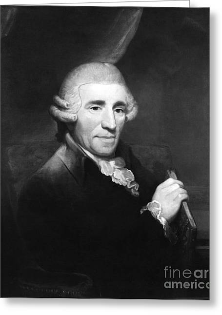 Quartet Greeting Cards - Franz Joseph Haydn, Austrian Composer Greeting Card by Omikron