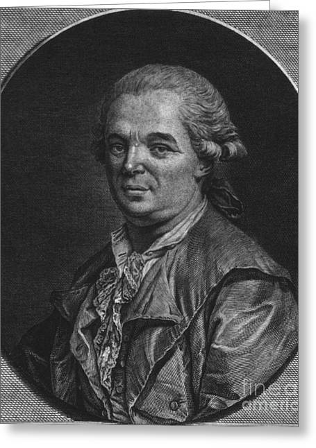 Animate Object Greeting Cards - Franz Mesmer, German Physician Greeting Card by Science Source
