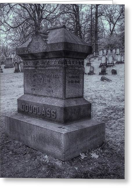 Abolition Photographs Greeting Cards - Frederick Douglass Grave One Greeting Card by Joshua House