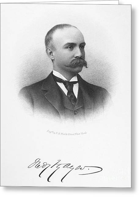Autograph Greeting Cards - Frederick Fanning Ayer Greeting Card by Granger
