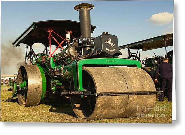 Road Roller Greeting Cards - Freds Betsy Greeting Card by Rob Hawkins