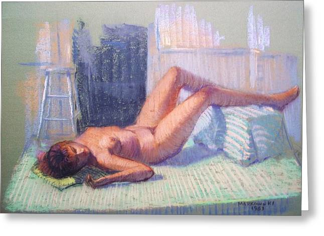 Bedroom Pastels Greeting Cards - Free Spirit Greeting Card by Bill Joseph  Markowski