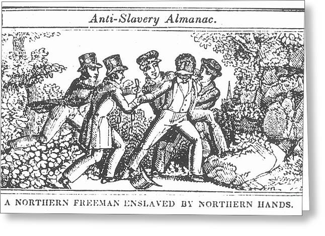 Freedman Enslaved, 1839 Greeting Card by Granger