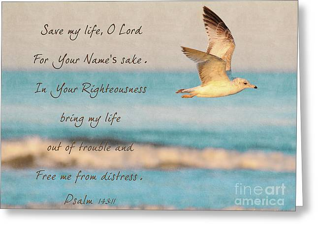 Freedom Flight Greeting Card by Constance Woods