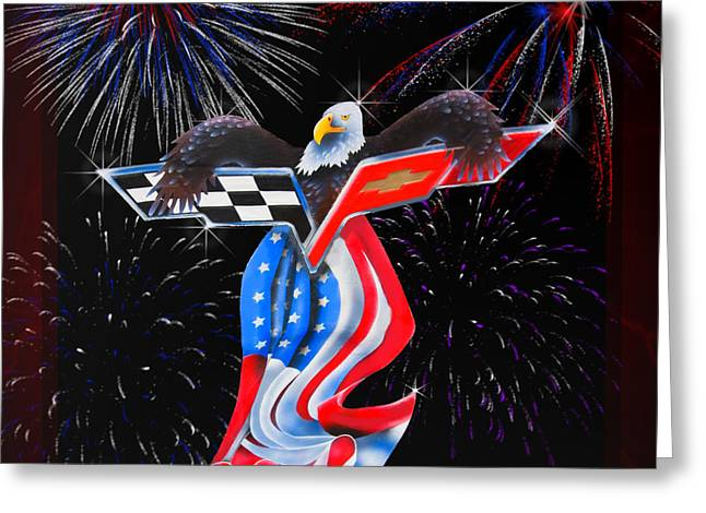 4th July Digital Art Greeting Cards - Freedom Greeting Card by Patricia Stalter