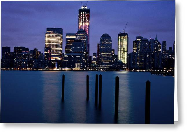 Gotham City Greeting Cards - Freedom Tower Greeting Card by Vicki Jauron