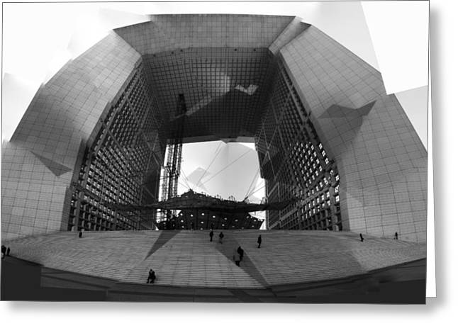 Aperture Greeting Cards - French Aperture Greeting Card by Alan Todd
