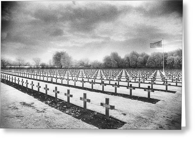 Wwi Photographs Greeting Cards - French Cemetery Greeting Card by Simon Marsden