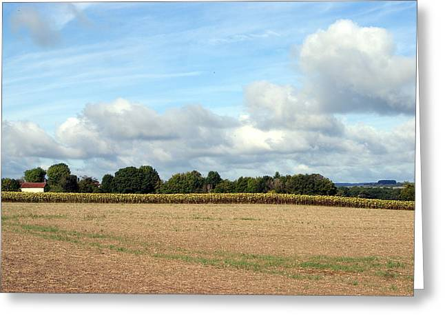 French Countryside Greeting Card by Chris Boulton